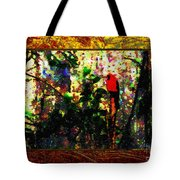 Redbird Sifting Beauty Out Of Ashes Tote Bag