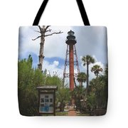 Redbrick Path To The Lighthouse Tote Bag