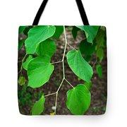 Redbud Green Tote Bag