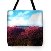Redbud In The Blue Ridge Tote Bag