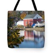 Redd's Pond Boathouse Marblehead Ma Massachusetts Tote Bag