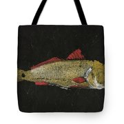 Redfish Tote Bag by Captain Warren Sellers
