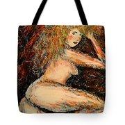 Redhead Dancer Tote Bag