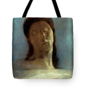 Redon: Closed Eyes, 1890 Tote Bag