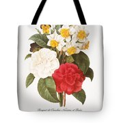 Redoute: Bouquet, 1833 Tote Bag