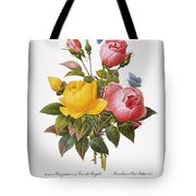 Redoute: Roses, 1833 Tote Bag by Granger