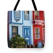 Reds And Blues Tote Bag