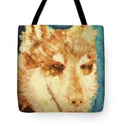 Red's Wolf Tote Bag