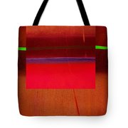 Redscape Tote Bag