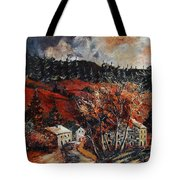 Redu Village Belgium Tote Bag