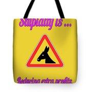 Reducing Bigstock Donkey 171252860 Tote Bag