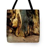 Redwood Abstract Tote Bag
