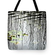 Reeds And Reflections Tote Bag