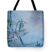 Reeds At Sunset Tote Bag