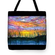 Reedy Sunset Tote Bag