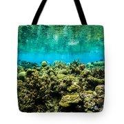 Reef At Ahnd Atoll Tote Bag