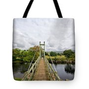 Reeth Swing Bridge Tote Bag
