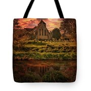 Reflected In The Stour Tote Bag