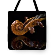 Reflected Scroll Tote Bag