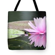 Reflected Water Lily Tote Bag