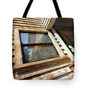 Reflecting Angles Tote Bag