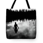 Reflecting Beauty Bow Tote Bag