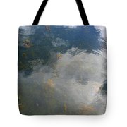 Reflecting Clouds In The Water  Tote Bag