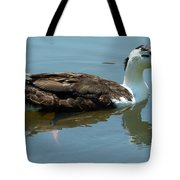 Reflecting Duck Tote Bag
