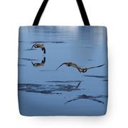 Reflecting Geese Tote Bag