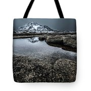 Reflecting Mountain Tote Bag