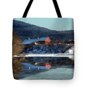 Reflecting On Farms By Connecticut Tote Bag