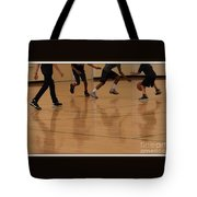 Reflecting On Game Tote Bag