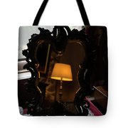 Reflecting On Lamps And Dreams  Tote Bag