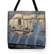 Reflecting On Noto Cathedral Saint Nicholas Of Myra - Sicily Italy Tote Bag