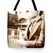 Reflecting On The Past Tote Bag