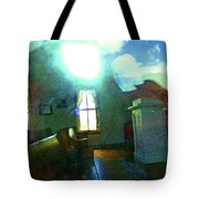 Reflecting On The Spirit Of Things Tote Bag
