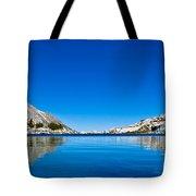 Reflecting On Treasure Lake Tote Bag