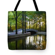 Reflecting Pool Roosevelt Park Tote Bag