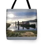 Reflecting With Mary Tote Bag