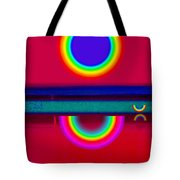 Reflectins On A Sunset Tote Bag