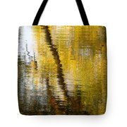 Fall Reflections 3 On Jamaica Pond Tote Bag