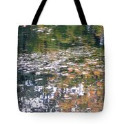 Fall Reflections 4 On Jamaica Pond Tote Bag