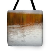 Fall Reflections 6 On Jamaica Pond Tote Bag