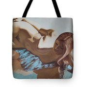 Nude Muse Reflecting Tote Bag