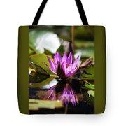 Reflection In Fuchsia Tote Bag