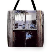 Reflection - In - The - Window  Tote Bag