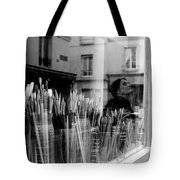reflection in the Window Tote Bag