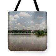 Reflection In Washington Tote Bag