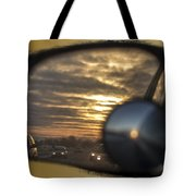 Reflection Of A Sunset Tote Bag