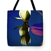 Reflection Of A Water Lily Tote Bag